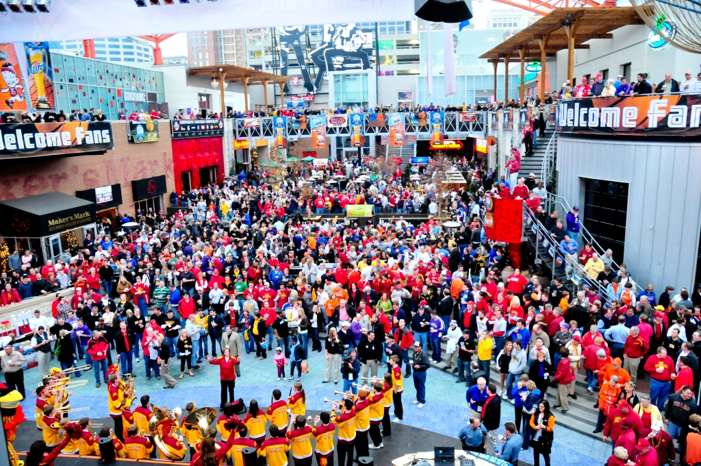 Big 12 Festivities at Power & Light District
